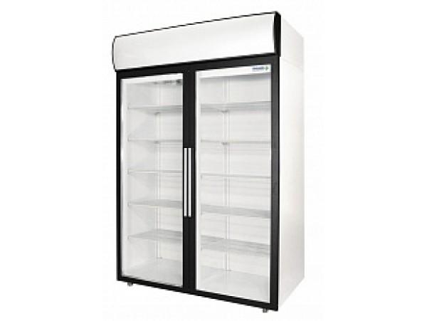 Полаир - Среднетемпературные шкафы со стеклянными дверьми ( DM110-S )