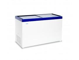 Морозильный ларь с прозрачной стеклянной крышкой МЛП 500