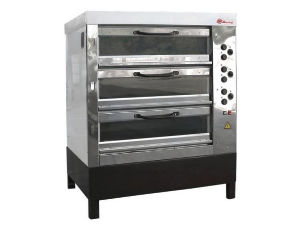 Хлебопекарная ярусная печь ХПЭ-750/3С