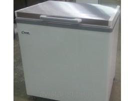 Ларь морозильный Снеж МЛК-250 нерж. крышка