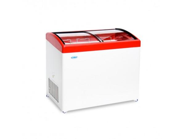 Морозильный ларь с гнутым стеклом МЛГ-350