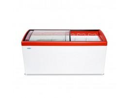 Морозильный ларь с гнутым стеклом МЛГ-600