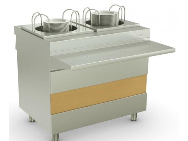 Атеси - Ривьера - Модуль для подогрева тарелок (950ММ)