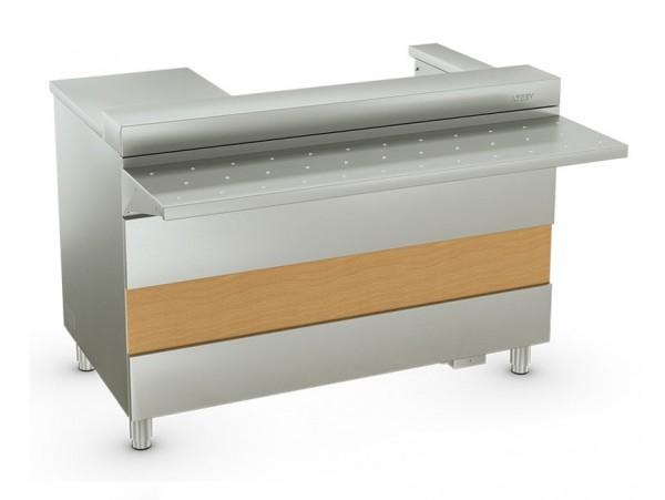 Атеси - Ривьера - кассовый стол с подлокотником Левый/Правый (1200мм)