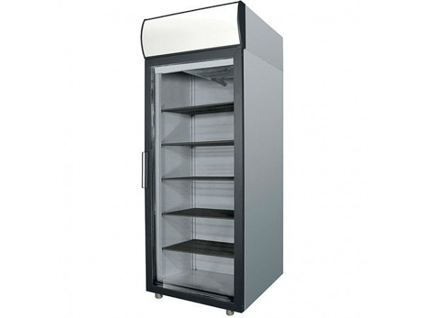 Холодильный шкаф Полаир DM105-G (ШХ-0,5 ДС нерж.)