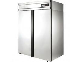 Холодильный шкаф Полаир CV114-G (нерж. и оцинковка)