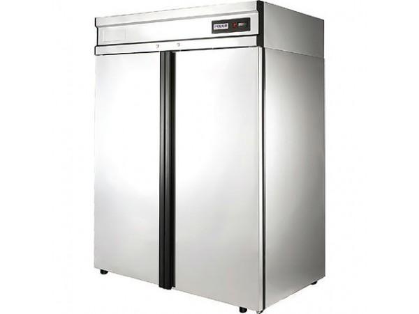 Холодильный шкаф Полаир CM114-G (ШХ-1,4 нерж.)