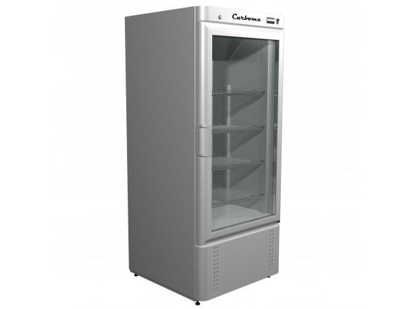 Шкаф холодильный Полюс Carboma R560С (стекло)