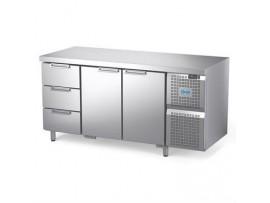 Стол охлаждаемый Диксон СТХ-2/1670М с ящиками (2 двери, 3 ящика)
