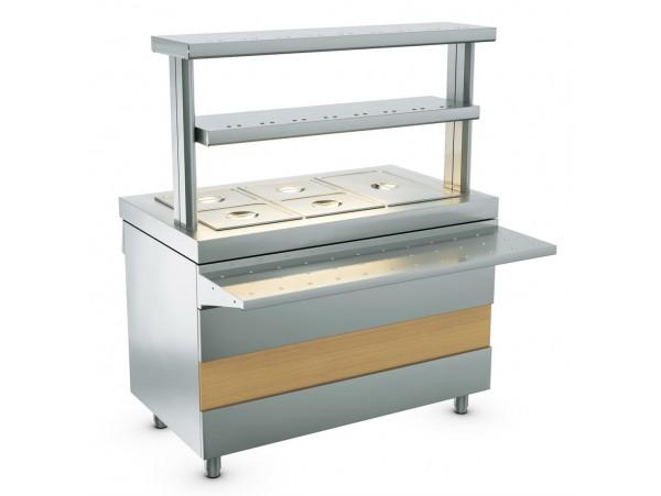 Атеси - Ривьера - мармит 2-х блюд паровой без г/ё (1200мм)