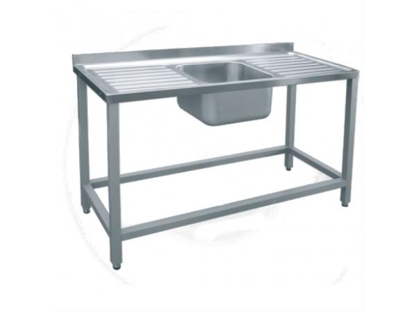 Стол для мойки овощей СМО-6-7 РЧ (краш.)
