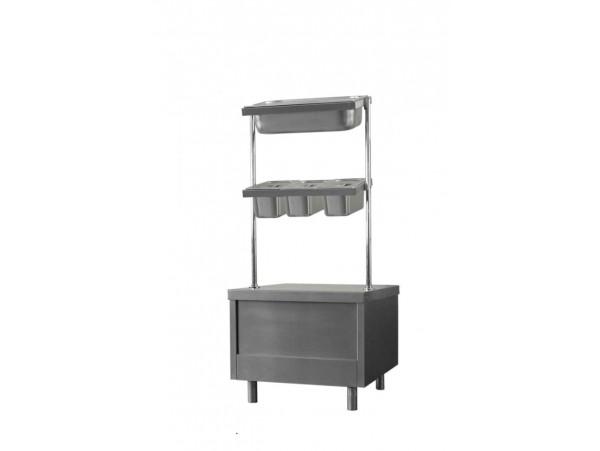 Прилавок ПС-1  для столовых приборов,  подносов и хлеба