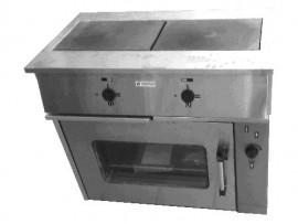 Плита ПЭ-0,24М 2-х конфорочная  с жарочным шкафом
