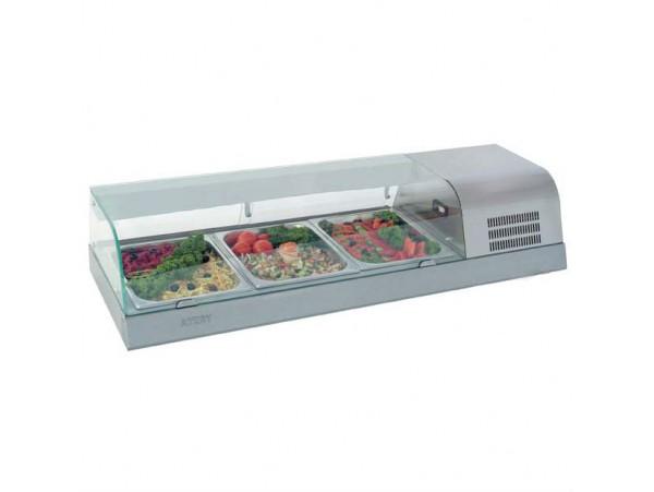 Холодильная витрина САКУРА-КОЛД-1200М (без гастроёмкостей)