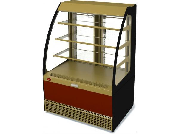 Витрина холодильная Марихолодмаш Veneto VSo-1,3 (окраш. открытая)